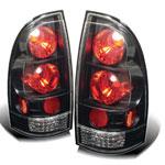Spyder Toyota Tacoma Tail Lights - Black - (ALT-YD-TT05-BK); 2005-2012