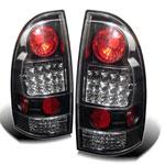 Spyder Toyota Tacoma LED Tail Lights - Black - (ALT-YD-TT05-LED-BK); 2005-2012