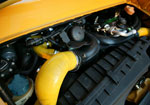 Agency Power Silicone F-Hose Kit Blue Porsche 996TT; 2001-2005