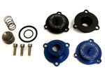 Agency Power Boost Recirculation Valves Black Porsche 997 Turbo; 2007-2009