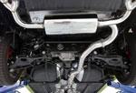 Agency Power Catback Exhaust Hyundai Genesis 3.8L V6 Stainless Tip; 2009-2012