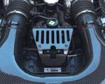 Agency Power Carbon Fiber Engine Lock Cover Ferrari 458; 2010-2015