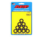 ARP M12 ID x 0.86 OD Chamfer Black Washer - Pack of 10; 0-0