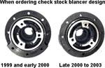ASP Mustang V6 Harmonic Balancer Crank Pulley; 1999-2000