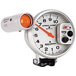Auto Meter Sport-Comp 10,000 RPM TACH (Silver); 1950-2011