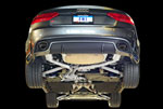 AWE Tuning Audi RS 5 Coupe 4.2L FSI Non-Resonated Downpipes; 2010-2015