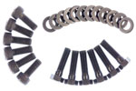 Exedy Hyper Multi Flywheel Ring Bolt Set NISSAN SILVIA L4 2; 5Spd Trans; 1995-1998