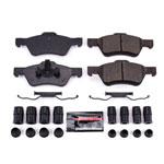 Power Stop 05-10 Ford Escape Front Z23 Evolution Sport Brake Pads w/Hardware; 2005-2010