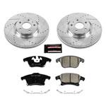 Power Stop 13-19 Ford Fusion Front Z23 Evolution Sport Brake Kit; 2013-2019