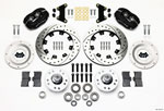 Wilwood Forged Dynalite Front Kit 12.19in Drilled 49-54 Chevy/53-62 Corvette (*Line Kit Needed*); 1954-2021