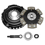 Competition Clutch Stage 4 - 6 Pad Rigid Ceramic Clutch Kit, Honda Civic 1.6L EXCEPT SI (D16); 1992-2001