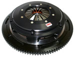 Competition Clutch 184MM Rigid Twin Disk Clutch Kit, Nissan Skyline 2.6L (with push style conversion) (RB26); 1989-2002