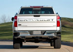 Putco 19-20 Chevy Silverado 1500 - Stainless Steel Tailgate Letters CHEVROLET Chevrolet Letters; 2019-2020