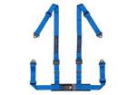 Corbeau 2 Inch Harness Belt 4-point Single Release Bolt-in - Blue; 1950-2017
