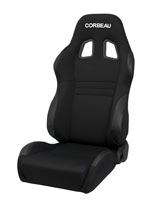 Corbeau A4 Reclining Seat in Black Cloth