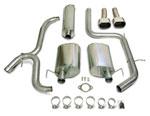 Corsa Exhaust System: Pontiac Grand Prix; 2003-2005