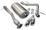 Corsa Exhaust System for Silverado/Sierra 1500 GMT900 4.8L 5.3L 6.0L EC Shrt Bed 133.9 WB Sport; 2007-2008
