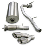 Corsa Exhaust System Yukon Denali 6.2L Touring-Single Side exit w/Twin Pro-Series 4.0 Tips; 2007-2008