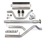 Corsa Exhaust System Chevy/GMC Trucks Sierra Denali 6.2L CC/SB Touring-Dual Rear exit w/Single Pro-Series 4.0 Tips; 2007-2009