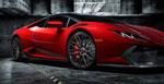 Vorsteiner Lamborghini Huracan Novara Edizione Aero Side Blades Carbon Fiber PP 2x2 Glossy; 0-0