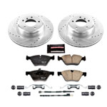 Power Stop 09-16 BMW Z4 Front Z23 Evolution Sport Brake Kit; 2009-2016