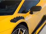 Vorsteiner Lamborghini Huracan Vicenzo Edizione Aero Fenders w/ Vents & Shields Carbon Matrix Glossy; 0-0