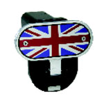 Defenderworx British Flag - Image Line - 2 Inch Fold Down Step Hitch