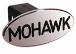 Defenderworx Mohawk - Black - Oval - 2 Inch Billet Hitch Cover