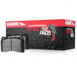 Hawk 08-13 BMW 1-Series HPS 5.0 Front Brake Pads; 2008-2013