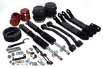 Air Lift Performance Rear Kit for 11-12 BMW 1M; 2011-2012