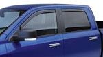 EGR 09+ Dodge Ram Pickup Crew Cab In-Channel Window Visors - Set of 4 (572751); 2009-2020