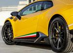 Vorsteiner Lamborghini Huracan Vicenzo Edizione Aero Side Blades Carbon Matrix PP Glossy; 0-0