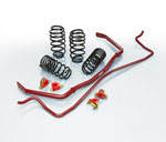 Eibach AUDI A4 Quattro PRO-PLUS (PRO-KIT Springs & ANTI-ROLL-KIT Sway Bars), Avant B6/B7 4 Cyl; 2002-2008