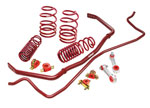 Eibach AUDI A3 SPORT-PLUS (SPORTLINE Springs & ANTI-ROLL-KIT Sway Bars), Base; 2006-2013
