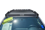 DV8 Offroad 2016+ Toyota Tacoma Aluminum Roof Rack (45in Light); 2016-2021