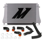 Mishimoto 2015+ VW MK7 Golf TSI / GTI / R Performance Intercooler Kit w/ Pipes (Black); 2015-2020