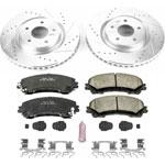 Power Stop 14-19 Nissan Rogue Front Z23 Evolution Sport Brake Kit; 2014-2019