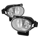 Spyder Acura TL OEM Fog Lights (no switch) - Clear - (FL-ATL08-C); 2007-2008