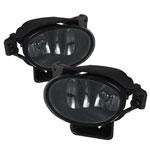 Spyder Acura TL OEM Fog Lights (no switch) - Smoke - (FL-ATL08-SM); 2007-2008