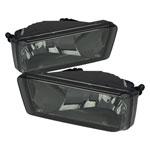 Spyder Chevrolet Silverado (w/Off Road Package ) OEM Fog Lights (no switch) - Smoke - (FL-CSIL07-SM); 2007-2011