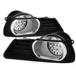Spyder Toyota Camry LED Fog Lights - Clear - (FL-LED-TCAM07-C); 2007-2009