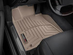 WeatherTech Front FloorLiner Volkswagen Beetle - Tan (Fits vehicles with round retention devices); 1998-2011