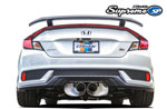 GReddy 2017+ Honda Civic SI Coupe Supreme SP Exhaust; 2017-2020