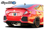GReddy 2017+ Honda Civic SI Sedan Supreme SP Exhaust; 2017-2020