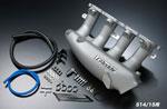 GReddy Nissan SR20DET S14/S15 Short Runner Intake Plenum for Stock Throttle Body; 1989-2003