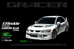 GReddy 03-05 Mitsubishi Evolution VIII Urethane Front Lip Spoiler **Must Ask/Call to Order**; 2003-2005