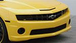 GT Styling Camaro smoke foglight covers; 2010-2012