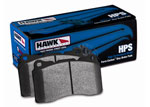 Hawk Brake Pads - HPS Compound Brake Pads, Front and Rear Set; 1997-2004
