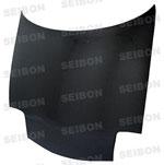 Seibon Carbon Fiber Oe Style Hood Mazda Rx-7 (Fd3s); 1993-2002