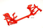 BMR Tubular K-Members LS1 std mounts Camaro V8 Red; 1998-2002